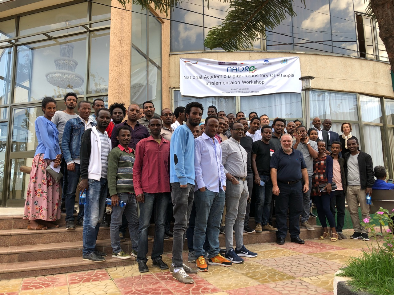 Group photograph at the Second NADRE Training Workshop - National